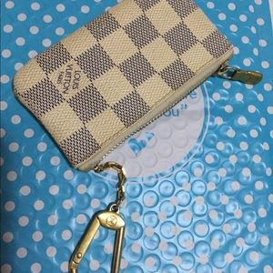 Louis Vuitton key pouch Azur